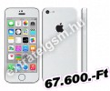 Apple iPhone 5C (8GB) Fehér / White Mobiltelefon